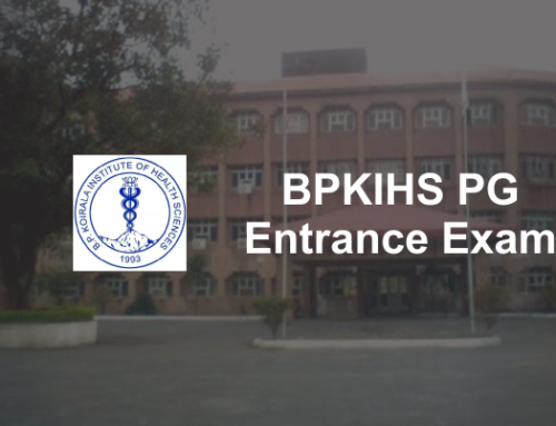BPKIHS PG Entrance Exam 2019: Result & Counselling Process