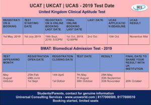 ucat dates_ mbbs in uk