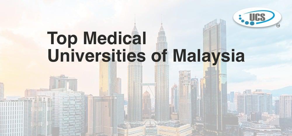 Top medical universities of malaysia